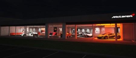 McLaren Showroom, Station Hill, Royal Ascot, Berkshire