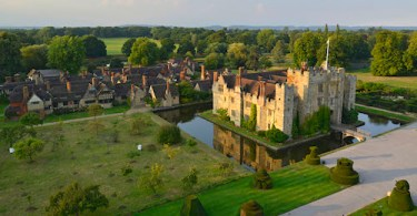 Hever Castle, new bedroom & bathrooms