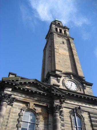 Charlotte Baptist Chapel, West End of Edinburgh