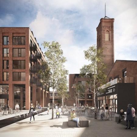 Tower Works, Holbeck Urban Village, Leeds' South Bank.