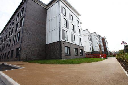 Bituchem's Maintenence Free Material Used For Major University Development