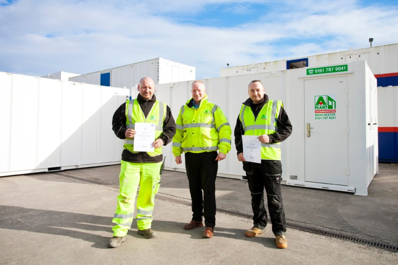 A-Plant Accommodation Leads the Way with Specialist Diplomas
