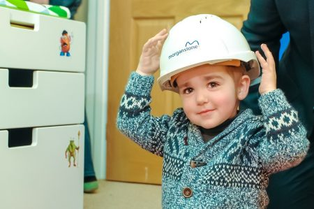 DIY SOS style makeover for family thanks to staff at Morganstone