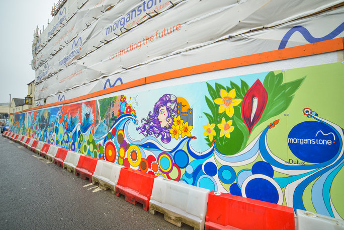 Morganstone Teams Up With University For Street Art Project