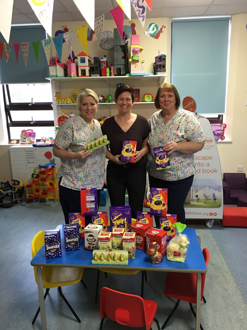 Morganstone donates over 100 Easter eggs to charity