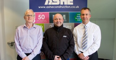 Ashe Strengthens Lutterworth Team With Three Senior Appointments
