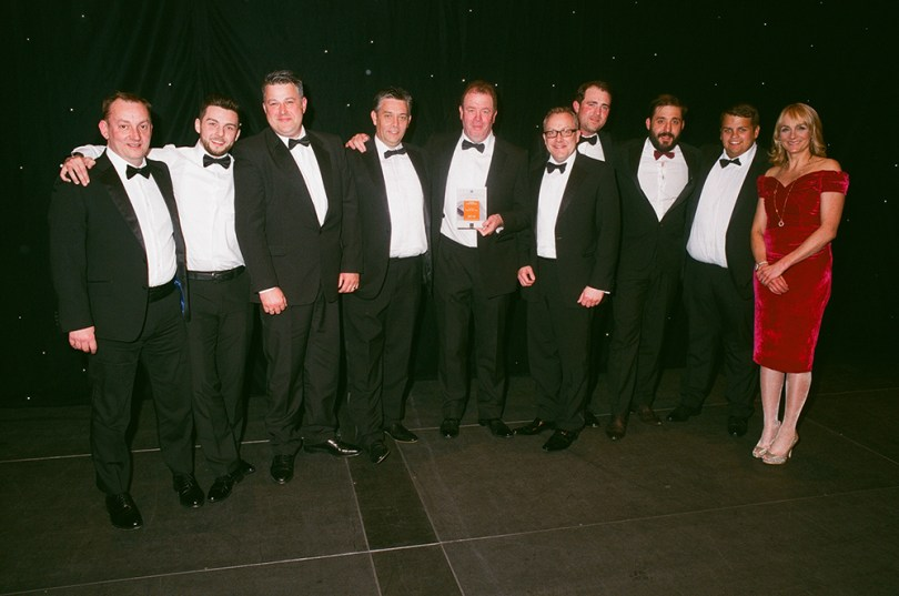O'Brien Contractors Awarded SME Of The Year At The 2016 Celebrating Construction Awards