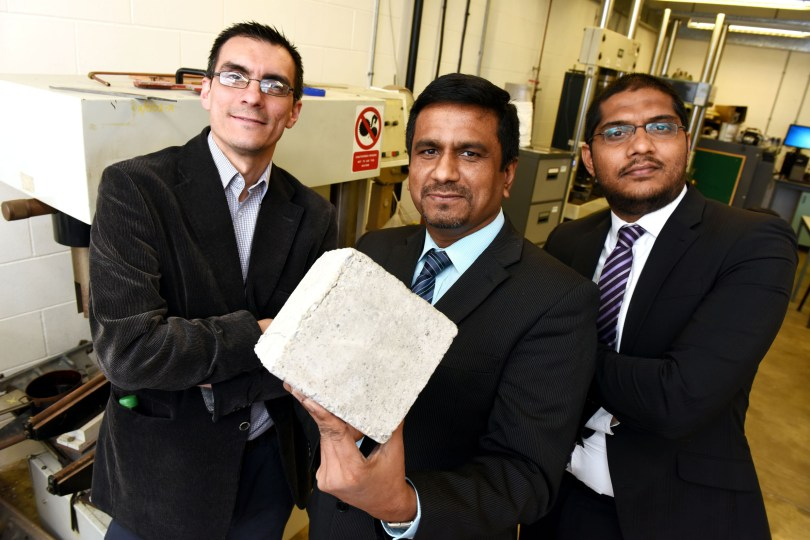 Teesside University Academics Preparing Self-Healing Concrete