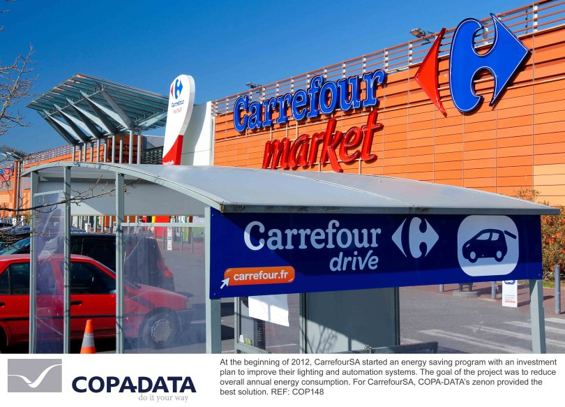 Going green with zenon Supervisor: CarrefourSA Turkey implements zenon for efficient Energy Management