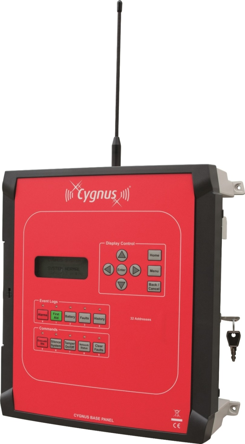 NEW WIRELESS FIRE ALARM PANEL FOR SMALLER CONSTRUCTION SITES