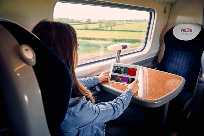 Virgin Trains launches its ground-breaking entertainment portal