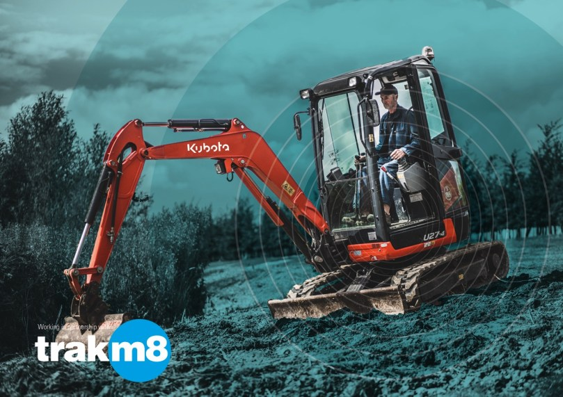 Kubota Launches Telematics Partnership At Hillhead