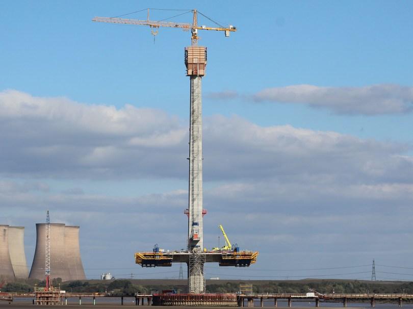 Mersey Gateway south pylon