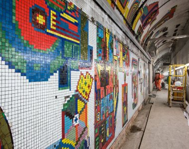 New life for Paolozzi mosaics