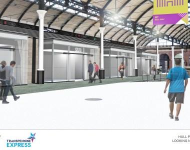 Hull Paragon £1.4 million redevelopment