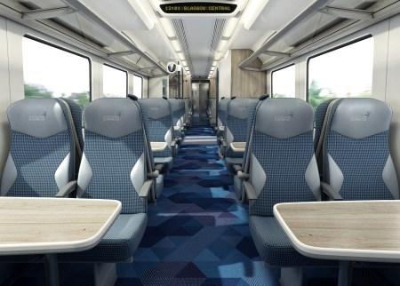 TransPennine Express' trains receive a metallic makeover