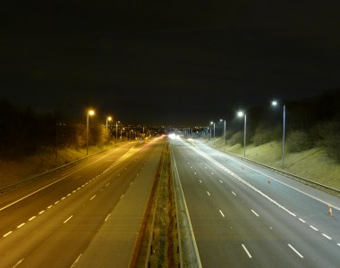 McCann Lights The Way On Energy-Efficiency, With The Completion of a £1.1m Highways England M62 LED Lighting Contract
