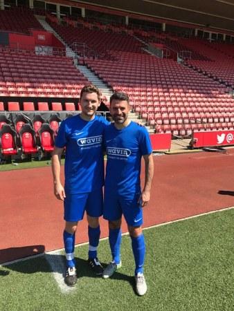 International Football Legends Join Rudridge For Seven-A-Side Sports Event