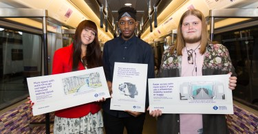 London Students Create Artwork To Celebrate The Launch Of Elizabeth Line Trains