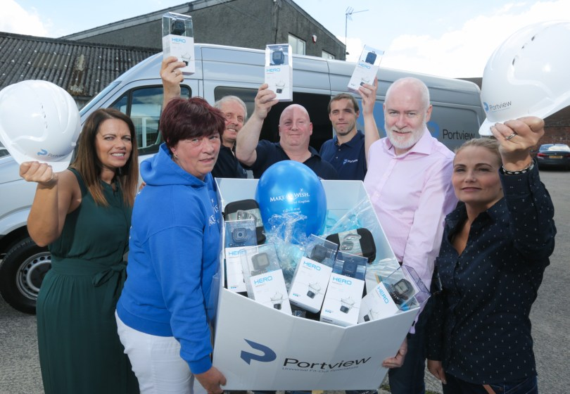 Portview Fit-Out Goes Pro For Make-A-Wish