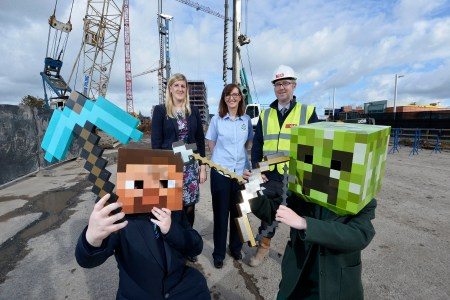 Pupils Participate in AC Hotel by Marriott Construction Through Minecraft Initiative