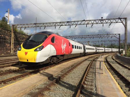 New Lick Of Paint For Virgin Trains' Pendolino