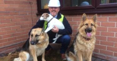 Stoke Window Company Helps Kit Out Dogs Trust Kennels