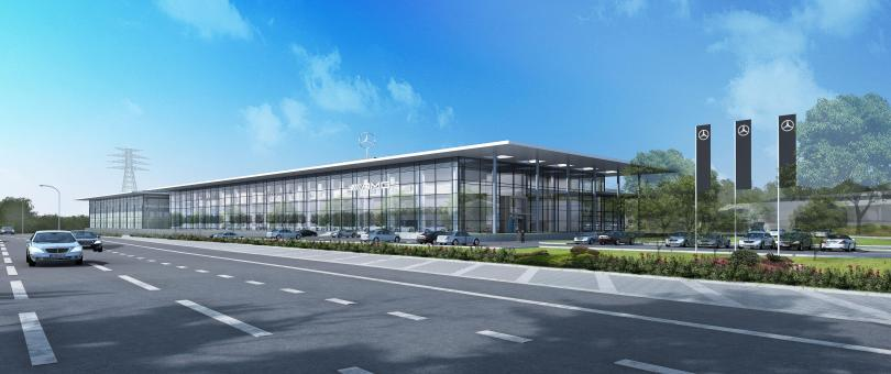 Terence O'Rourke Secures Approval For £60 Million Mercedes-Benz Dealership In Stockport