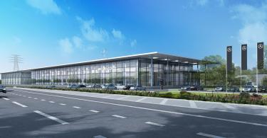 Terence O'Rourke Secures Approval For £60 Million Mercedes-Benz Dealership In Stockport