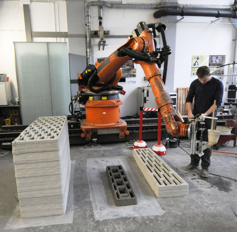3D Printing in concrete