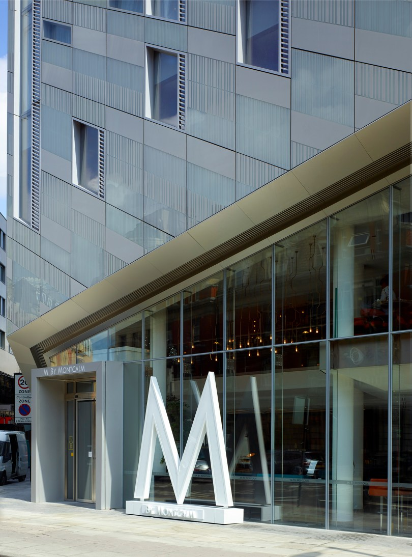 VitrA chosen by M by Montcalm, Shoreditch for the design of its 269 bathrooms