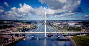 Sunderland's New Bridge Across The River Wear Named As 'Northern Spire'