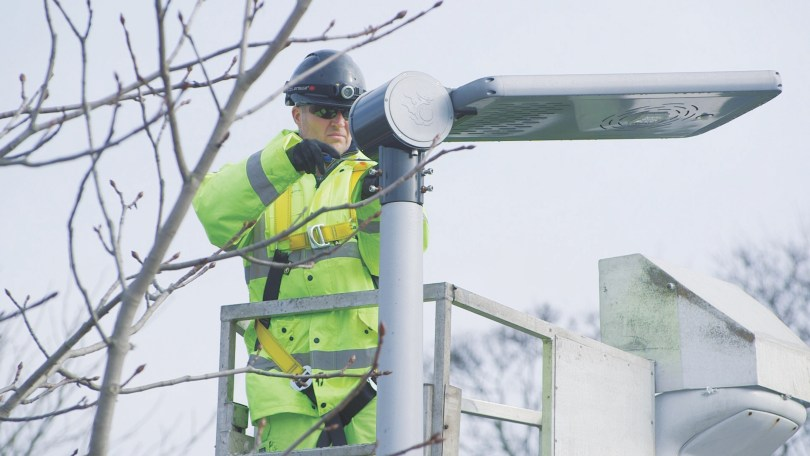 McCann Begins Work On £25m LED Street Lighting Contract for The Borough Council of Calderdale, Yorkshire