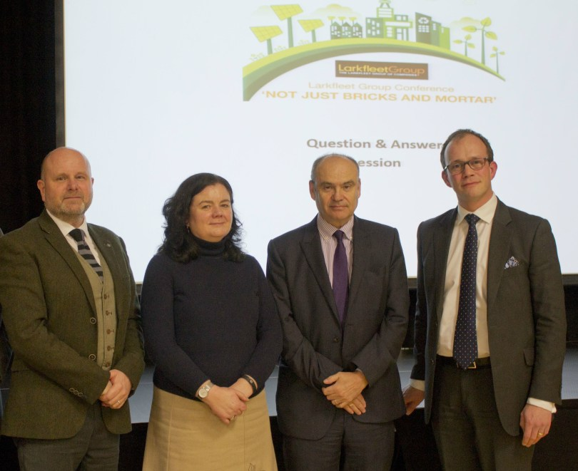 Politicians And Businesses Plan Sustainable Future