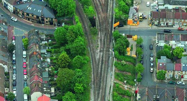 Streatham railway