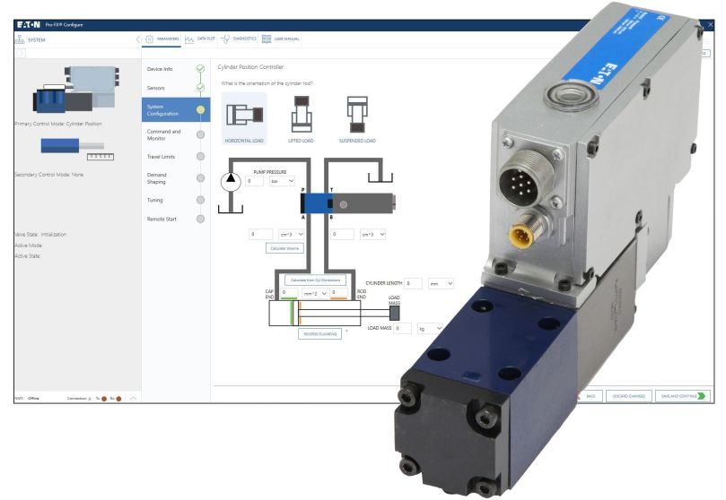 Eaton Expands AxisPro Proportional Valve Portfolio and Enhances Configuration Software to Increase Flexibility and Ease-of-Use