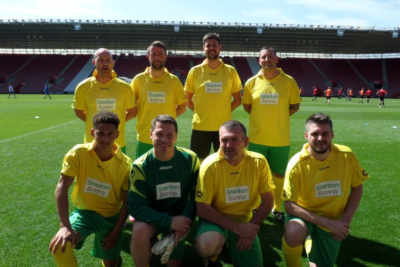 Football Legends Join Rudridge for Seven-a-Side Event