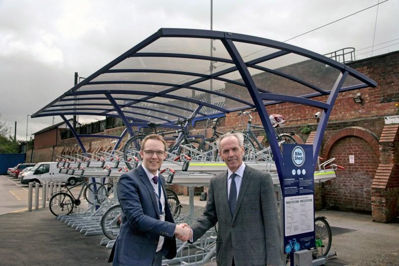 New Cycling Facilities at Northallerton Train Station