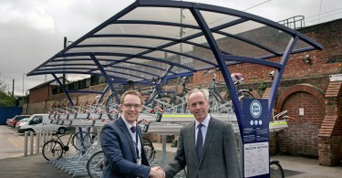 New Cycling Facilities at Northallerton Train Station