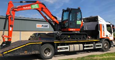Final Delivery of Plant Hire Firm's New £1 Million Kubota Fleet