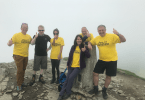 Jupiter Hotels Scottish General Managers Climb 3,000ft for Seriously Ill Children