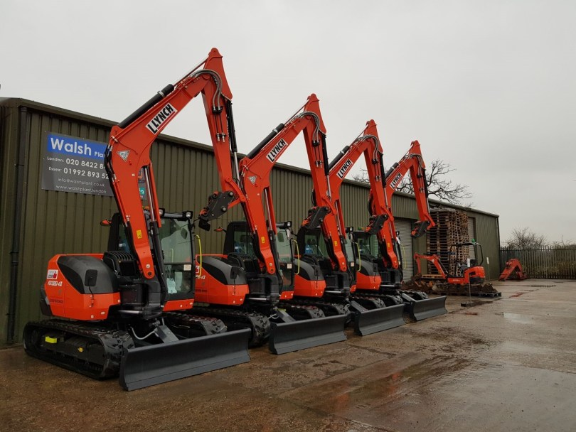 Lynch Plant Hire Continues to Invest in Kubota