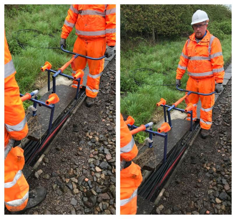 Ander-Lift Makes Lineside Operations Safer and More Efficient on BASRE Project