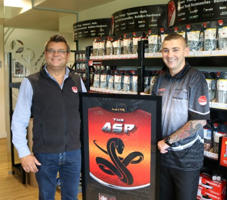 Professional Darts Player Pays a Visit to TIMCO