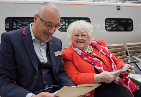 War Widow Discovers Long-Lost Grave of War Hero Grandfather after Chance Encounter on Virgin Trains Service
