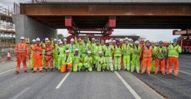 UK's Biggest Road Upgrade Reaches Half-Way Point