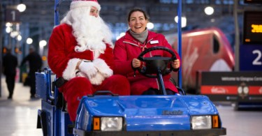 Virgin Trains Carries More Christmas Shoppers to Glasgow