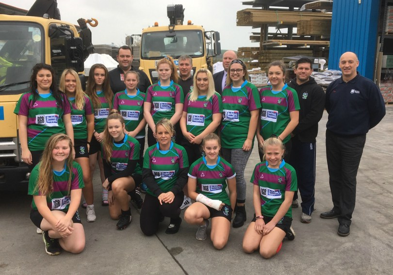 New Girls' Rugby Team Supported by RGB