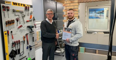 Weru UK Celebrates Major Accreditation, and a UK First