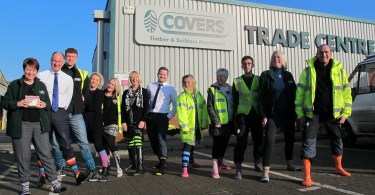 Covers Chichester Put Best Feet Forward for Charity